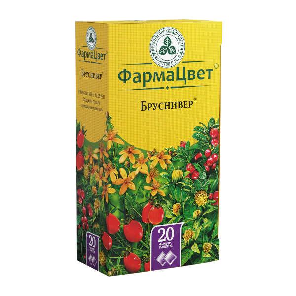 Сбор бруснивер 2г №20 купить в Москве по цене от 107 рублей