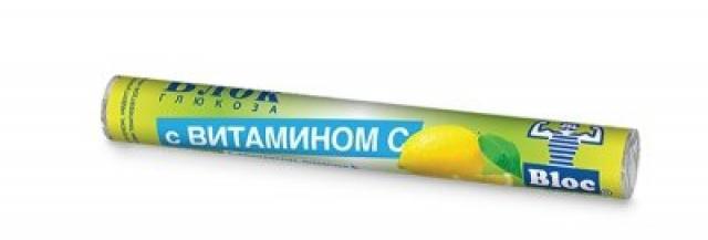 Блок Глюкоза Вит.С/Лимон таблетки №18 купить в Москве по цене от 0 рублей