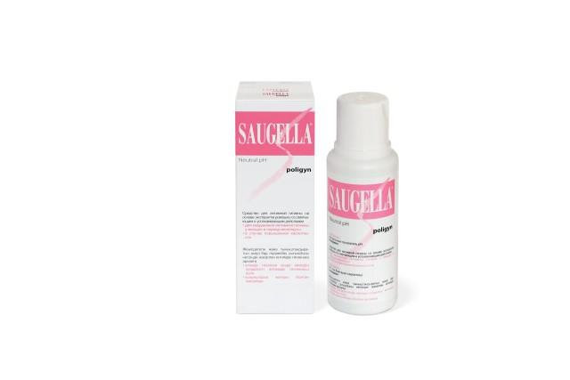 Саугелла Полиджин мыло для интимной гигиены 250мл купить в Москве по цене от 505 рублей