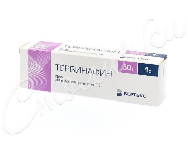 Тербинафин крем 1% 30г купить в Москве по цене от 229 рублей
