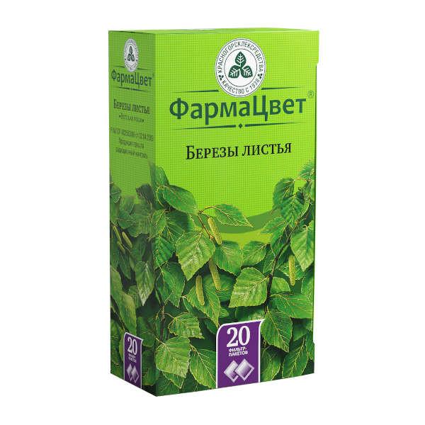 Береза листья 1,5г №20 купить в Москве по цене от 61 рублей