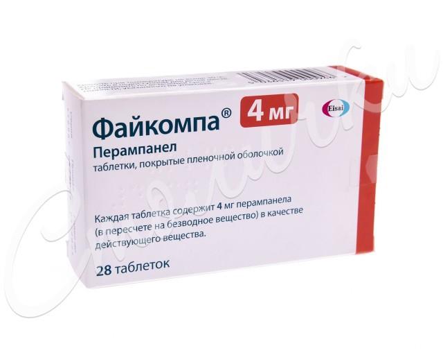 Файкомпа таблетки п.о 4мг №28 купить в Москве по цене от 3621 рублей