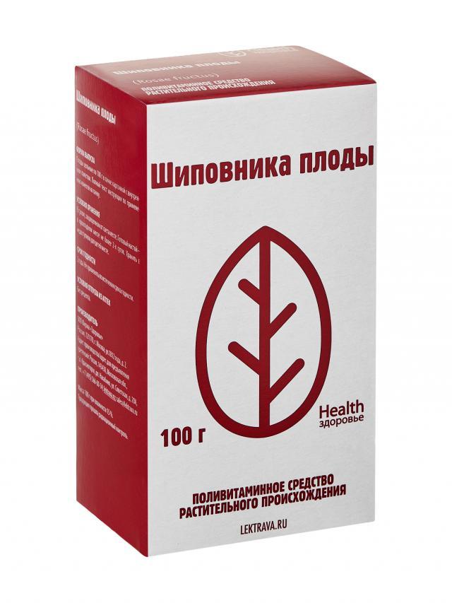 Шиповник плоды Здоровье 100г БАД купить в Москве по цене от 82 рублей