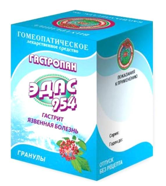 Эдас-954 Гастропан (гастрит, язв. болезнь) гранулы 20г купить в Москве по цене от 0 рублей