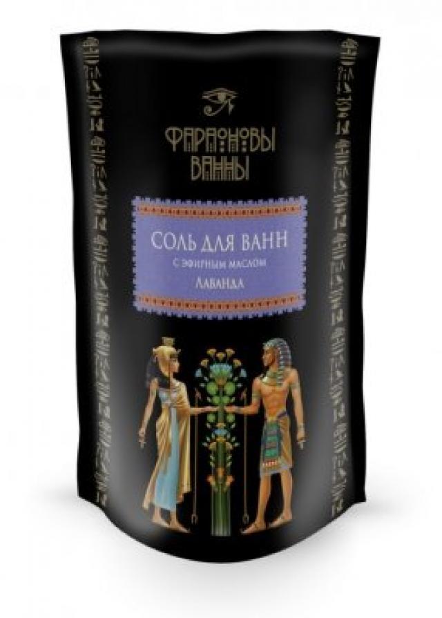 Фараоновы ванны соль для ванн лаванда 500г купить в Москве по цене от 0 рублей