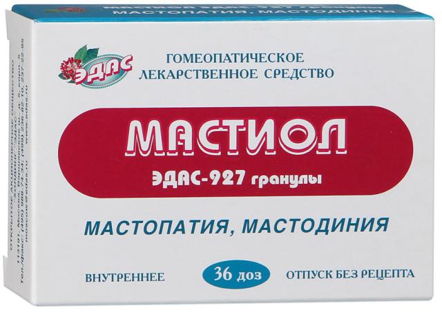 Эдас-927 Мастиол (мастопатия) гранулы 17г капсулы №36 купить в Москве по цене от 167 рублей