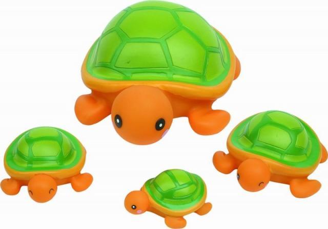 Курносики игрушка д/ванной Семейка черепашки 25071 купить в Москве по цене от 481 рублей