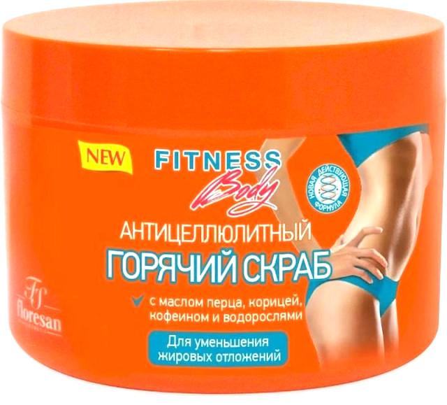 Фитнес Боди скраб для тела горяч.антицелл. 500мл 215 купить в Москве по цене от 190 рублей
