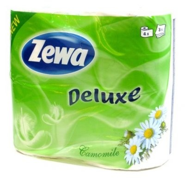Зева Делюкс бумага туалетная ромашка/лаванда №8 купить в Москве по цене от 0 рублей