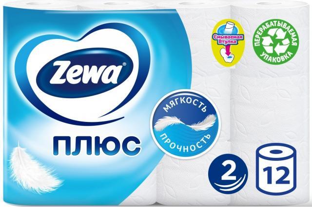 Зева Плюс бумага туалетная белая №12 купить в Москве по цене от 0 рублей
