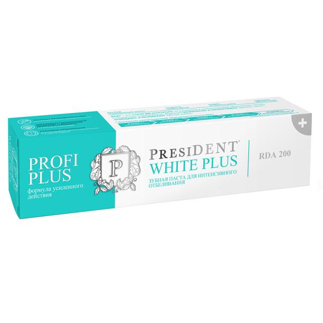 Президент зубная паста Уайт Плюс 30мл купить в Москве по цене от 240 рублей