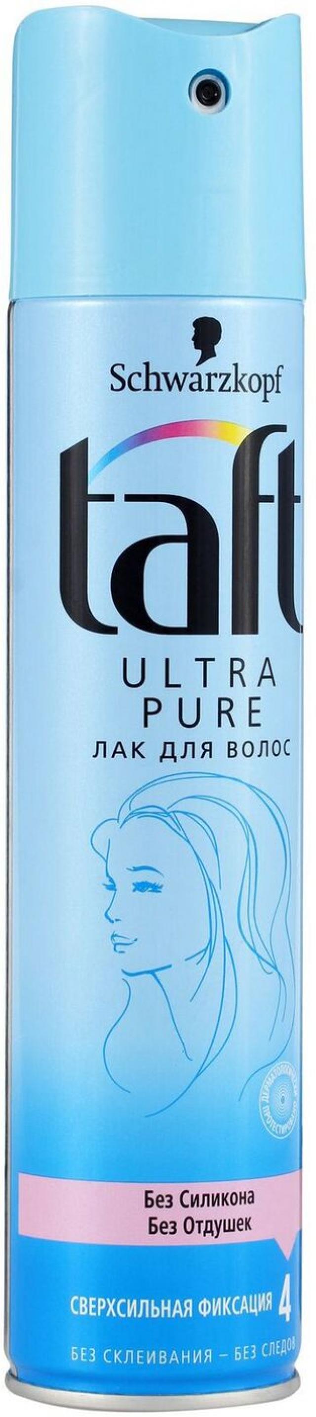 Тафт лак для волос Ультра 225мл купить в Москве по цене от 0 рублей