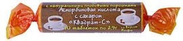 Аскорбиновая к-та крутка с сахаром Кофе таблетки №10 купить в Москве по цене от 0 рублей