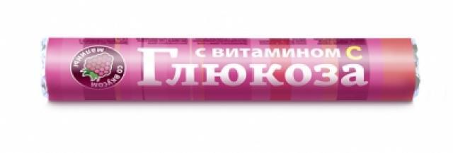 Глюкоза с вит. С Малина таблетки №18 купить в Москве по цене от 20 рублей