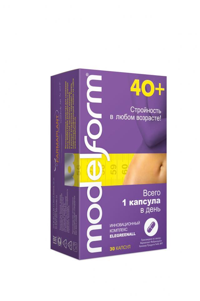 Модельформ 40+ капсулы №30 купить в Москве по цене от 924 рублей