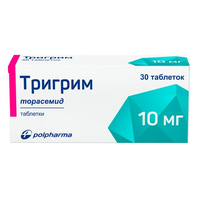 Тригрим таблетки 10мг №30 купить в Москве по цене от 503 рублей