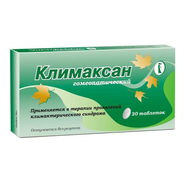 Климаксан таблетки гомеопатические №40 купить в Москве по цене от 163 рублей