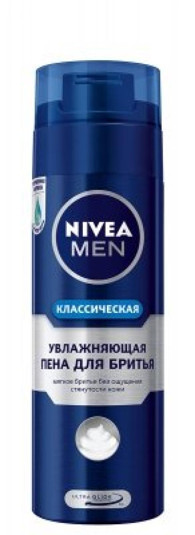 Нивея Мен пена для бритья увлажняющий 200мл 81700 купить в Москве по цене от 246 рублей