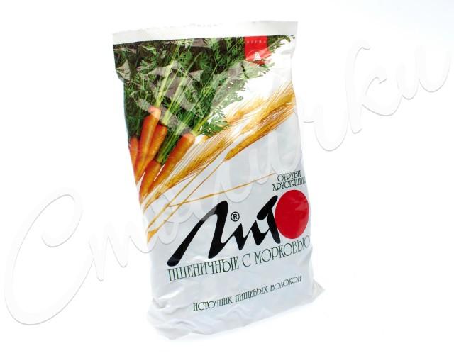 Отруби ЛИТО пшеничные Морковь/кальций 200г купить в Москве по цене от 69 рублей