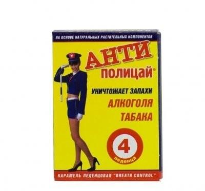 Антиполицай таблетки №4 купить в Москве по цене от 48 рублей