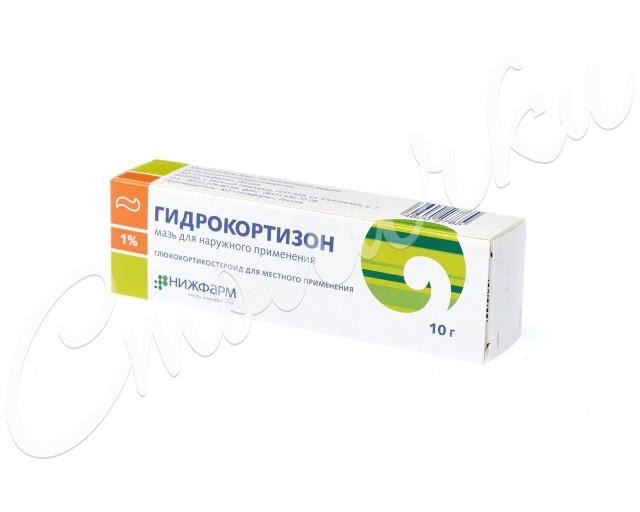 Гидрокортизон Нижфарм мазь 1% 10г купить в Москве по цене от 29.3 рублей