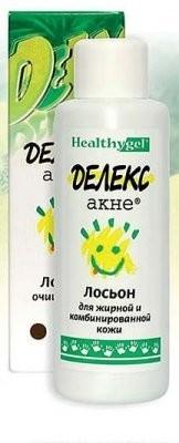 Делекс-Акне лосьон д/жирн./комб.кожи 100мл купить в Москве по цене от 243 рублей