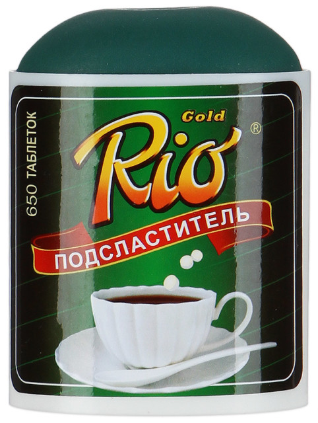 Рио Голд подсластитель таблетки №650 купить в Москве по цене от 116 рублей