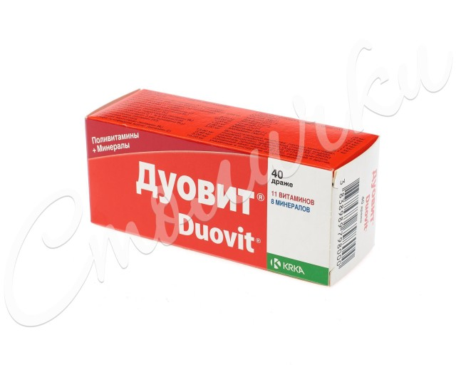 Дуовит др. №40 купить в Москве по цене от 345 рублей