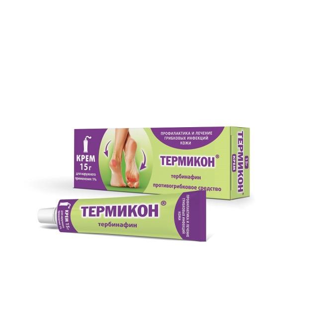 Термикон крем 1% 15г купить в Москве по цене от 299 рублей