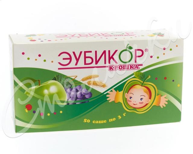 Эубикор Крошка порошок 3г №50 купить в Москве по цене от 379 рублей