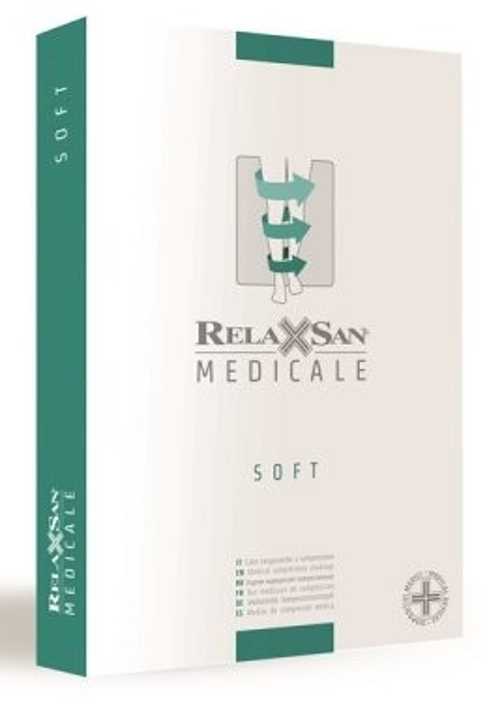 Релаксан колготки Soft откр. носок К1 р.2/M беж. (М1180A) купить в Москве по цене от 0 рублей