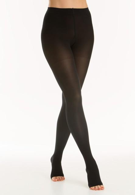 Релаксан колготки Soft откр. носок К1 р.5/XXL черный (М1180A) купить в Москве по цене от 0 рублей
