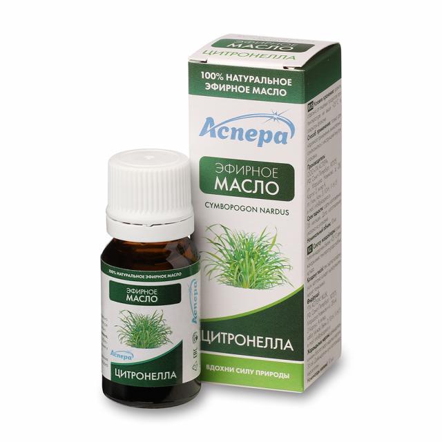 Аспера масло эф. цитронелла 10мл купить в Москве по цене от 114 рублей