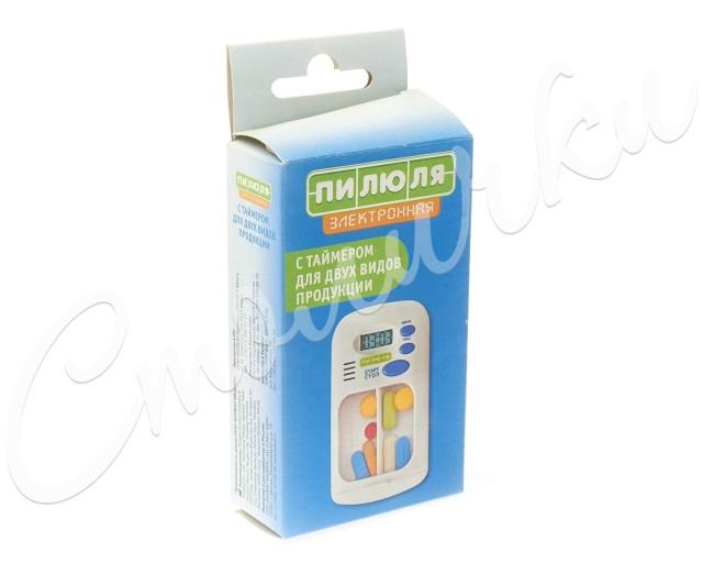 Таблетница пилюля электр./таймер/2 вида прод. (3753) купить в Москве по цене от 612 рублей
