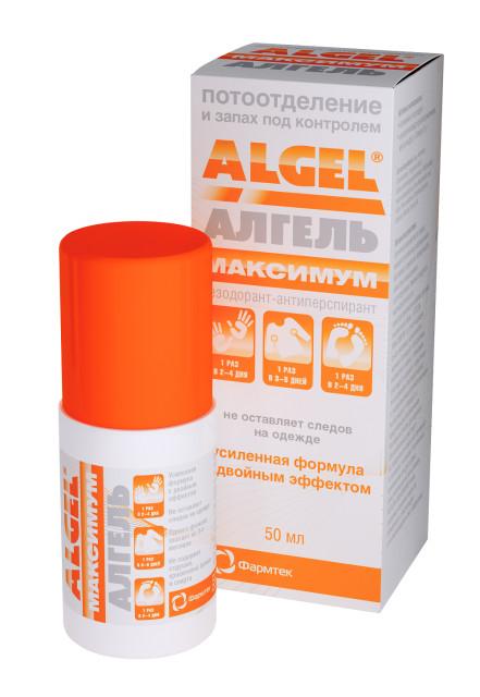 Алгель Максимум дезодорант-ролик 50мл купить в Москве по цене от 441 рублей
