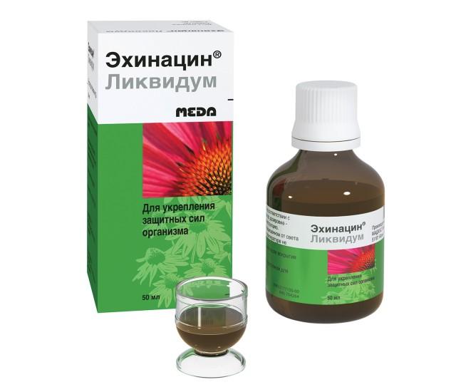 Эхинацин ликвидум раствор 50мл купить в Москве по цене от 231 рублей