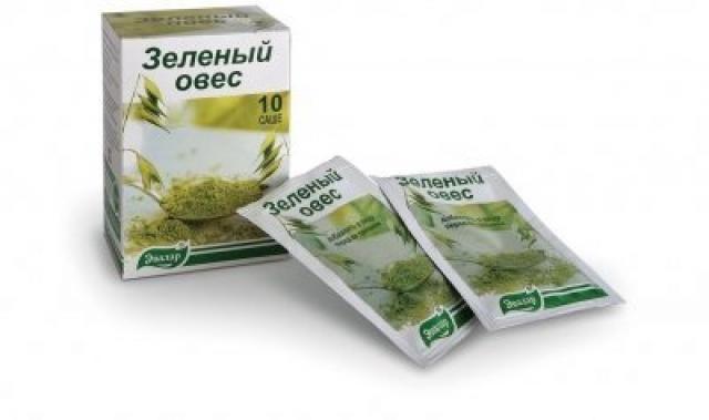 Зеленый овес саше 2г Эвалар №10 купить в Москве по цене от 0 рублей
