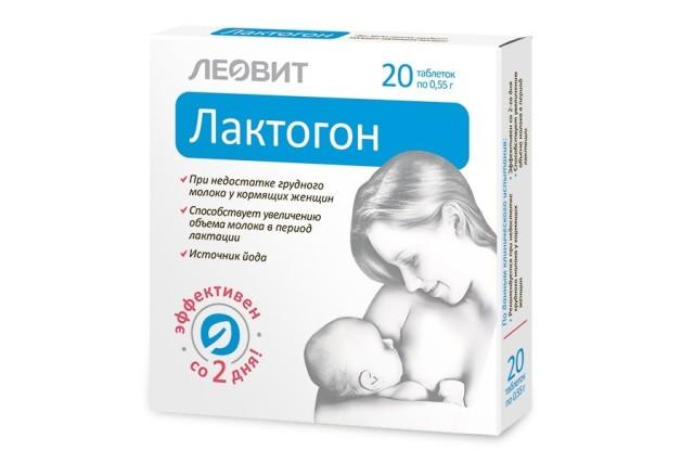 Леовит Лактогон таблетки №20 купить в Москве по цене от 248 рублей