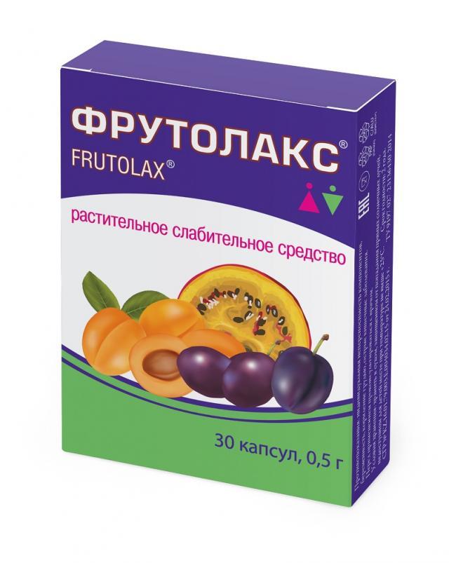 Фрутолакс капсулы №30 купить в Москве по цене от 179 рублей