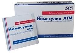 Нимесулид гранулы для приготовления суспензии 100мг 2г №30 АВВА купить в Москве по цене от 512 рублей
