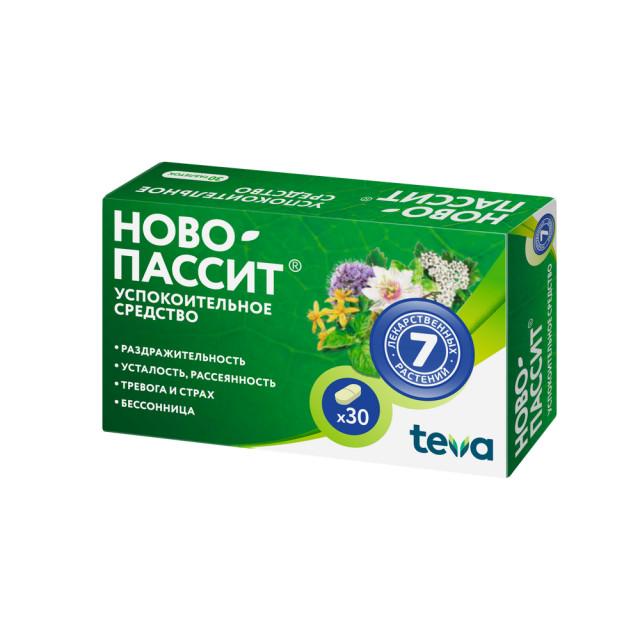 Ново-Пассит таблетки №30 купить в Москве по цене от 517 рублей