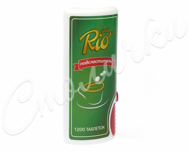 Рио Голд подсластитель таблетки №1200 купить в Москве по цене от 199 рублей