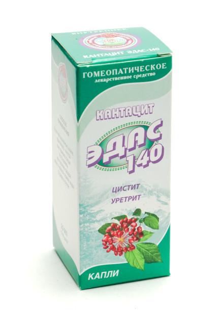 Эдас-140 Кантацит (урогенит. инф.) капли 25мл купить в Москве по цене от 111 рублей