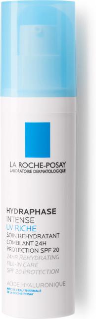 Ля рош позе Гидрафаз UV Интенс Риш для сухой кожи SPF20 50мл купить в Москве по цене от 1850 рублей