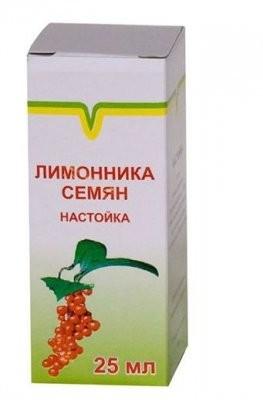 Лимонника семян настойка 25мл купить в Москве по цене от 43 рублей