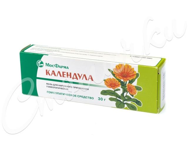 Календула мазь гомеопатическая 30г купить в Москве по цене от 76 рублей