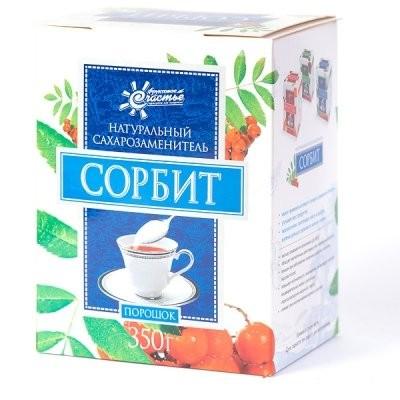 Сорбит порошок 350г купить в Москве по цене от 122 рублей