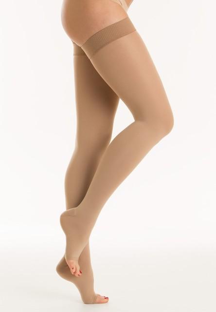 Релаксан чулки Soft откр. носок К2 р.1/S беж. (М2170A) купить в Москве по цене от 0 рублей