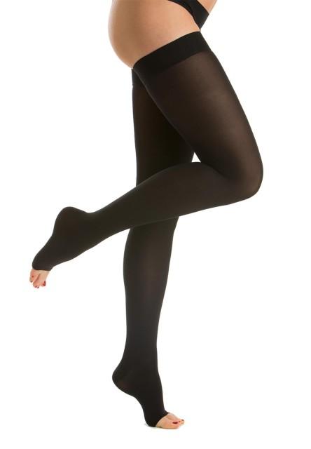 Релаксан чулки Soft откр. носок К2 р.1/S черный (М2170A) купить в Москве по цене от 0 рублей
