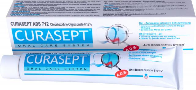 Курасепт зубная паста 0,12% хлоргексидин 75мл ADS712 купить в Москве по цене от 0 рублей